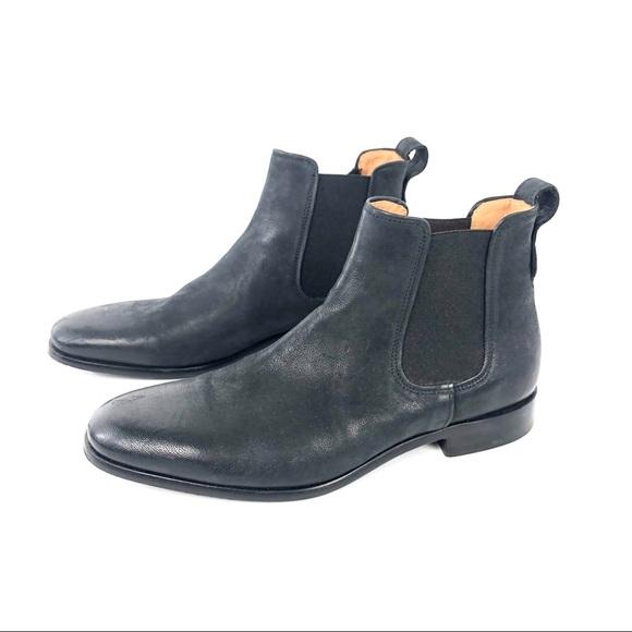092bfc684 Vince Shoes | Burroughs Chelsea Boot Black Leather | Poshmark
